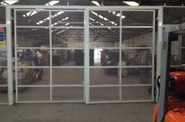 warehouse security gates