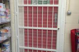 indoor security grilles