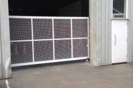 security swing door