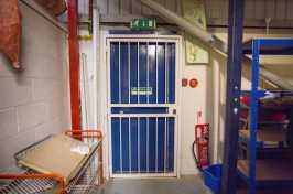interior security grilles