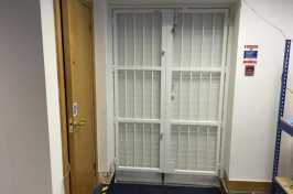 commercial interior security grilles