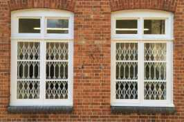 commercial window security grilles