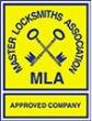 MLA Logo Master Locksmiths Association